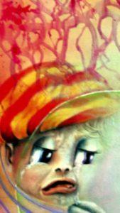 A.-Mazzoldi-Consolazione, particolare che evidenzia il garbuglio emotivo