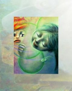 """""""Consolation"""" by Aurora Mazzoldi. Detail for Introspectivity - Understand Emotions"""