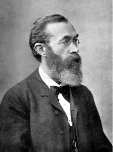 Wilhelm Wundt (Wikipedia image). Important figure in the History of Introspective Psychology